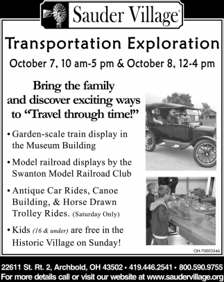 Transportation Exploration