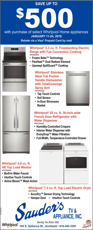 Coupon Whirlpool Home Appliances