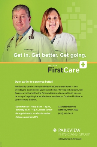 Parkview First Care