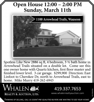 1100 Arrowhead Trails, Wauseon