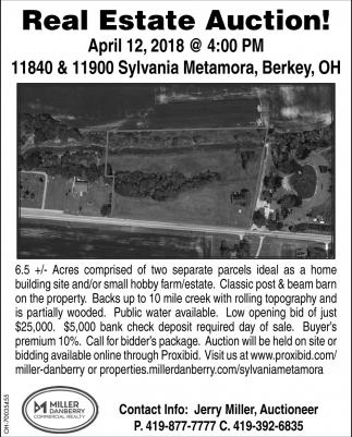 11840 & 11900 Sylvania Metamora, Berkey