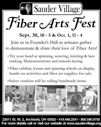 Fiber Arts Fest