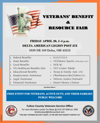 Veterans' Benefit & Resource Fair