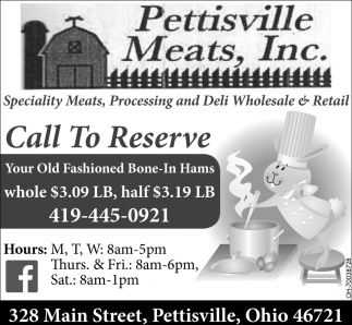 Speciality Meats, Processing and Deli Wholesale & Retail