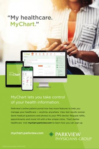 Parkview's online patient portal