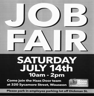 sc 1 st  Fulton County Expositor & Job Fair Haas Door Wauseon OH