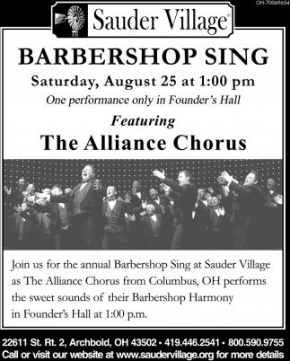 Barbershop Sing