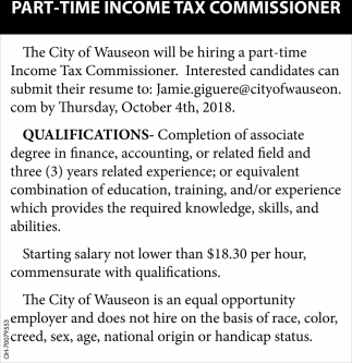 Income Tax Commissioner