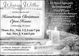 Hometown Christmas Open House
