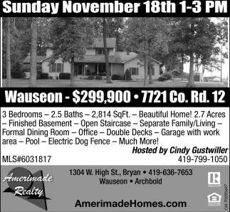 7721 Co. Rd. 12, Wauseon