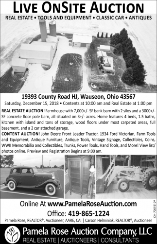 19393 County Road HJ, Wauseon, Ohio