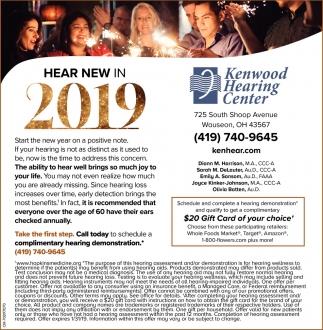 Hear new in 2019