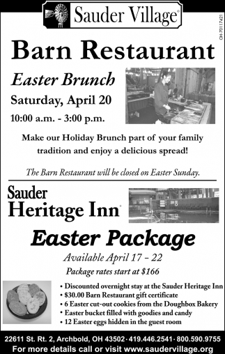 Easter Brunch / Easter Package