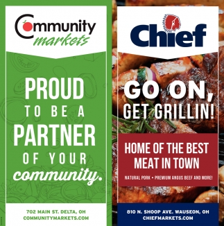 Proud to be a Partner of Your Community | Go On Get Grillin!