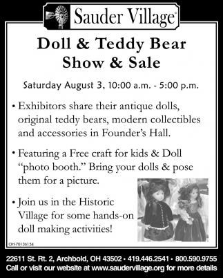 Doll & Teddy - Show & Sale