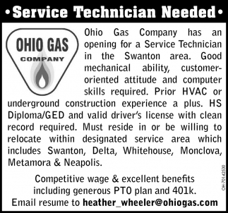 Service Technician Needed