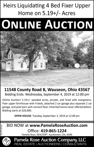 11548 County Road B, Wauseon, Ohio