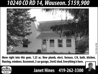 10240 CO RD 14, Wauseon