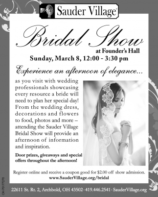 Bridal Show - March 8