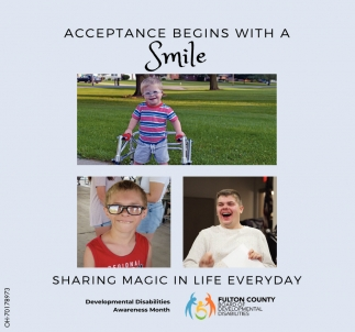 Acceptance Begins With A Smile